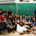 Grade 11s (in person and in drawings)