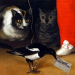These cats from a Velasquez intrigued me.