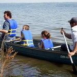 Hope this won't be the only canoe ride of the summer.