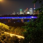 Subway and Luminous Veil