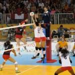 Canada vs. Cuba, women's volleyball