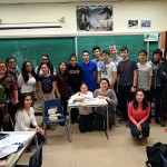Our class, well, almost everyone, on the last day.