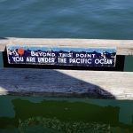 Aptly said at the end of a row of floating houses at Fisherman's Wharf.
